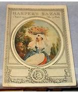 Harpers Bazar Bazaar Up Scale Ladies Fashion Magazine Aug 1913 - $49.95