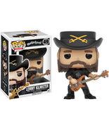Lemmy Kilmister Funko Pop! Rocks Toy [New] - $14.99