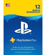 PlayStation Plus 1 year Membership!!! - $34.99