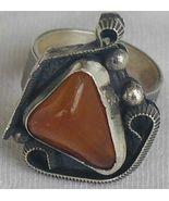 Amber ring SR43 - $42.00