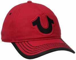 True Religion Men's Cotton HorseShoe Adjustable Baseball Trucker Hat Cap TR1989 image 10