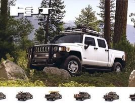 2009 Hummer H3T sales brochure sheet 09 Humvee - $6.00