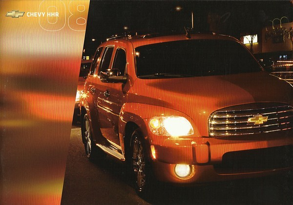2008 Chevrolet HHR sales brochure catalog US 08 Chevy Panel