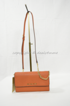 NWT! Michael Kors Jet Set Travel Large Phone Crossbody Bag in Orange - $139.00