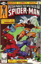 The Spectacular Spider-Man Comic Book #49 1980 FINE- - $2.75