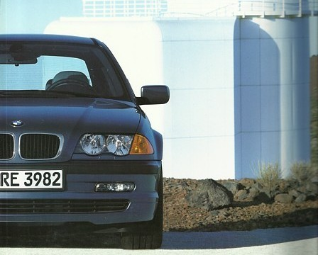 2001 BMW 3-SERIES Sedan brochure catalog US 01 325i xi 330i