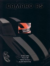 2001 Chevrolet SLP CAMARO RS sales brochure sheet Chevy - $10.00