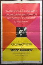 CITY LIGHTS (1931) Charlie Chaplins Silent Film Masterpiece the Most Fam... - $40.00