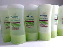 Trial Travel Size Pantene Nature Fusion Shampoo Conditioner Avocado Bamboo - $15.79