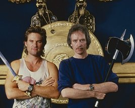 Kurt Russell And John Carpenter In Big Trouble In Little China Posing Together O - $69.99