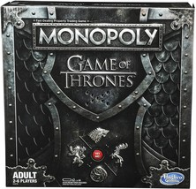 Monopoly Game of Thrones Board Game for Adults - $35.99