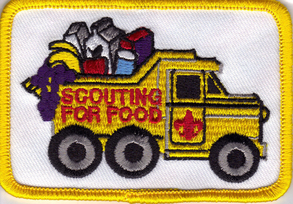 Scouting for food patch