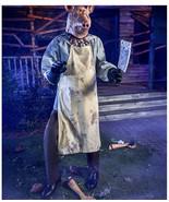 Halloween prop decoration animated 6.3 Ft The Butcher Animatronic (sh) O12 - $692.99