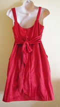 NEW WISHES WISHE WISHES COCKTAIL/PARTY/CLUB MINI DRESS, SZ 11,TRUE RED,ROSES,HOT image 5