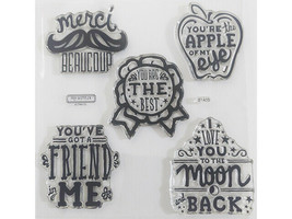 Close to My Heart You've Got a Friend Clear Stamp Set #S1405 image 2