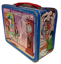 "1974 ""Goober and the Ghost Chaser"" Hanna Barbera Metal Lunch Box by King Seeley  - $100.00"