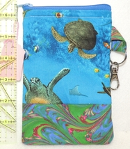 Clip-On Cell Phone Case - Medium - Sea Turtles  - COPC - $4.00