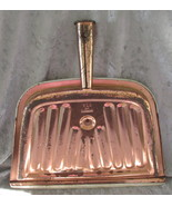 Vintage Metal Dust Pan Copper Color - $10.00