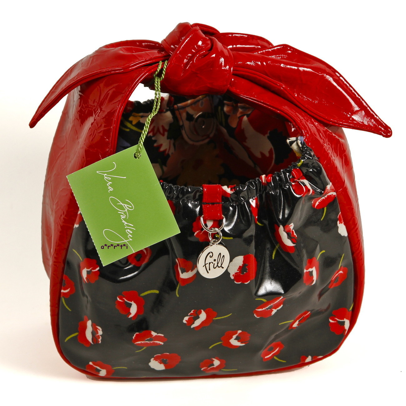 Vera Bradley Frill Tippy Tie Poppy Fields Girls Bag - NWT