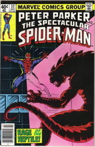 The Spectacular Spider-Man Comic Book #32 Marvel 1979 FINE+ - $3.25