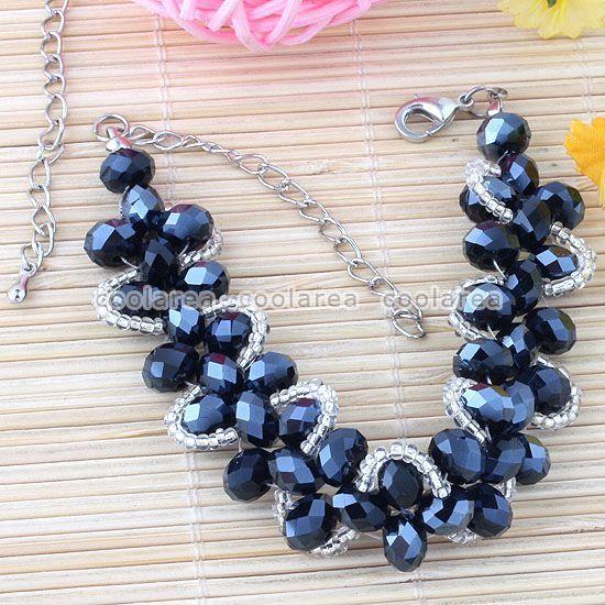 1bracelet black beads