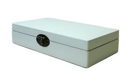 Chinese Off White Rectangular Shape Container Box cs3002C - $98.00