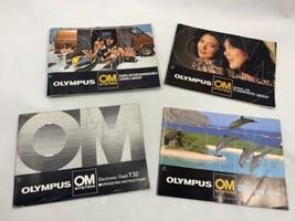 Olympus OM System Information Books Brochures Manuals - $7.76