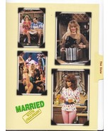 Married with Children Collage Lg File Card Appl... - $5.99