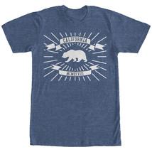 Lost Gods California Flag Roman Numerals Mens Graphic T Shirt - $10.99
