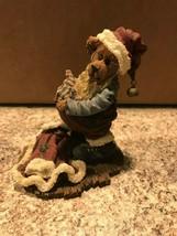 Boyds Bear Bearstone S Kringlebeary Santa Wannabe Christmas Figurine #8... - $15.00