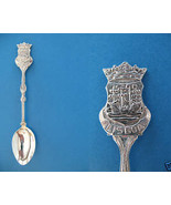 LISBON PORTUGAL Souvenir Collector Spoon Collectible Portuguese LISBOA - $6.95