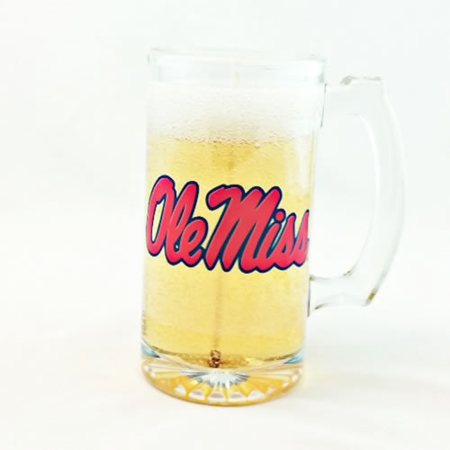 Ole Miss Beer Gel Candle