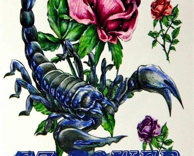 Скорпион цветы