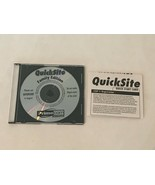 QuickSite Family Edition CD-ROM PC Computer Software  Primecom Interactive - $9.99