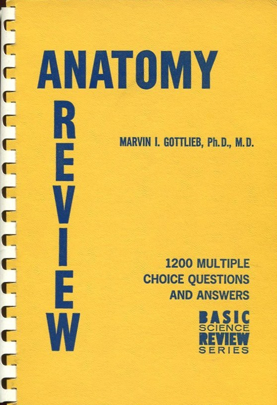 Primary image for ANATOMY REVIEW by Marvin I. Gottlieb, Ph.D., M.D.