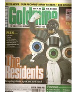 GOLDMINE MAGAZINE JANUARY 24, 2003 THE RESIDENTS  - $3.99