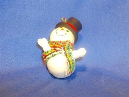 1981 Hallmark Jolly Snowman Little Trimmer Ornament