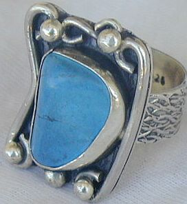 Turquoise ring SR120