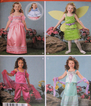 Simplicity 2384 Fairy Princess Girls 3 to 8 Pattern Hallowee - $7.95