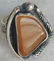 Amber ring-SR125 - $30.00