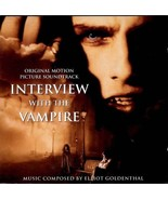 INTERVIEW WITH THE VAMPIRE ELLIOT GOLDENTHAL SOUNDTRACK CD  RARE - $4.95