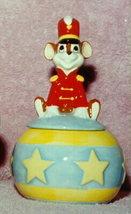 Disney Dumbo Toimothy Mouse sugar bowl Porcelain - $25.00