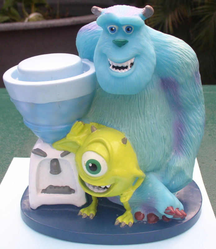 Disney Monsters Inc  Mike and Sulley cup holder