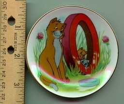 Disney  Aristocats O'Malley Porcelain WDP Japan Plate - $27.39
