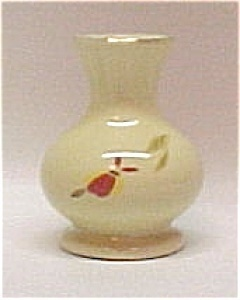 Primary image for Hall China Autumn Leaf 1994 NALCC Bud Vase Jewel T Tea