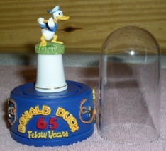 Disney Donald Duck Holding a baton Thimble Feisty 65 Yr - $55.49