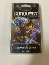 Zogworts Curse War Pack Warhammer 40k Conquest Card Game NIP - $11.65