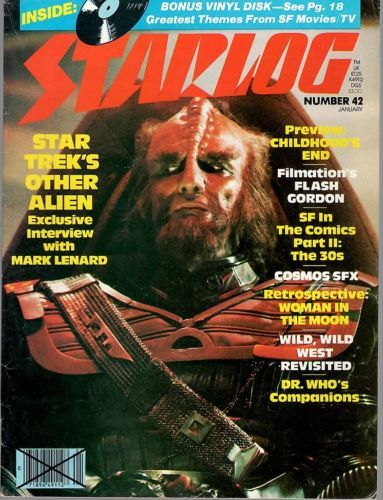 Primary image for STARLOG MAGAZINE #042 JAN 1981 VF RARE