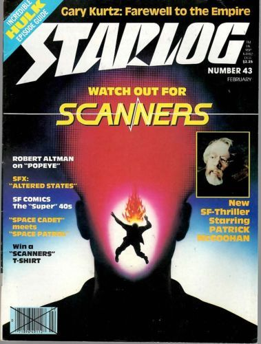 Primary image for STARLOG MAGAZINE #043 FEB 1981 VF RARE