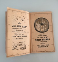 Vintage 50s S&H Green Stamps books image 3